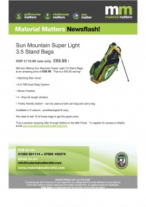 Sun Mountain Super Light 3 5
