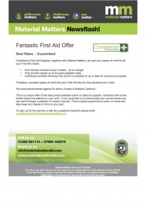 Fantastic First Aid Offer