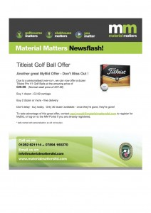 Titleist Golf Ball Offer