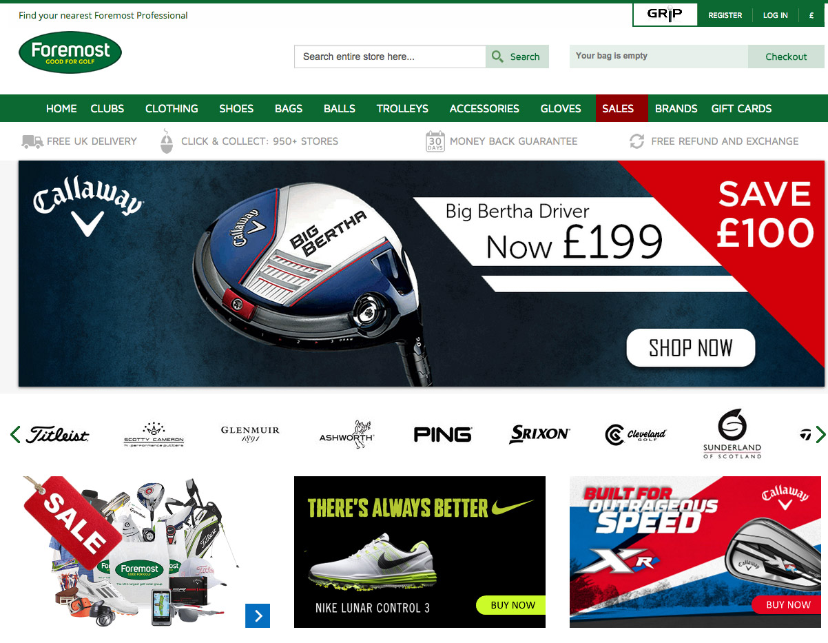 foremost-golf-website